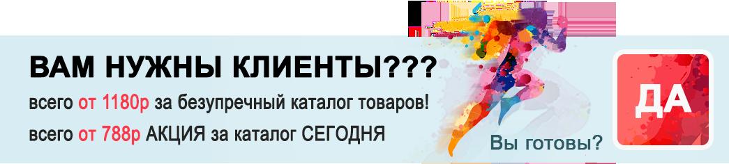 сайт-каталог цена от 788 рублей